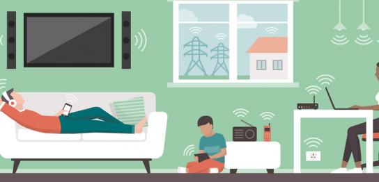 エナジー光は高速無線LANが標準搭載